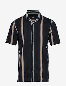 MAtrostol Resort 2 - kortermede skjorter - dark navy