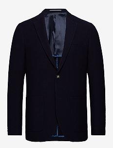 MAgeorge Jersey - single breasted blazers - dark navy