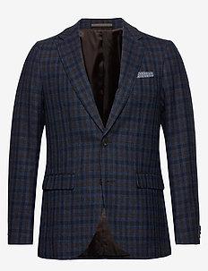 MAgeorge - blazers met enkele rij knopen - insignia blue