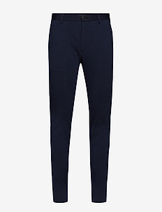 MApaton Jersey Pant - suit trousers - ink blue