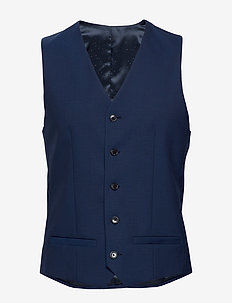 MAbreck - waistcoats - ink blue