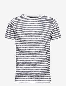 Jermane - short-sleeved t-shirts - white