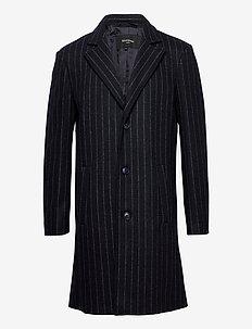 MAlancaster 3 - manteaux de laine - dark navy