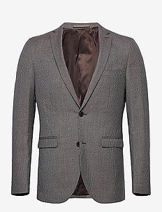 MAgeorge F - enkeltkneppede blazere - dark brown
