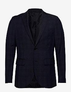 MAGeorge F - enkeltkneppede blazere - dust blue