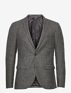 MAgeorge F - enkeltkneppede blazere - steel grey