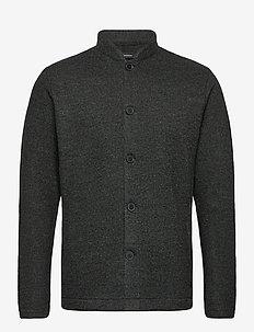 MAjules - tops - dark grey melange