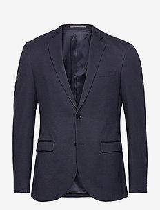 MAgeorge Jersey - enkeltkneppede blazere - dark navy