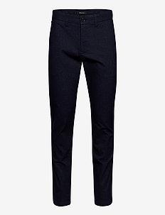 MApristu - pantalons décontractés - dark navy