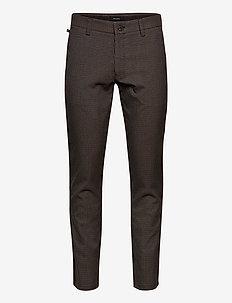 MApristu - pantalons décontractés - dark brown