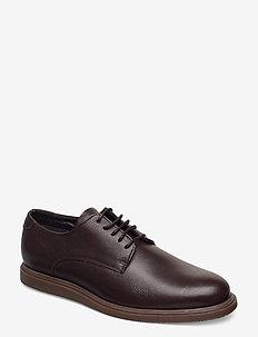 MAkenzie Leather - snøresko - dark brown