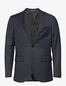 MAgeorge F - single breasted blazers - dark navy