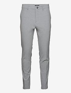 MAliam Pant - suitbukser - light grey melange