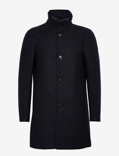 MAharvey NK - manteaux de laine - dark navy