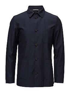 George Harrington Washed Cotton Woo - VINTAGE BLUE