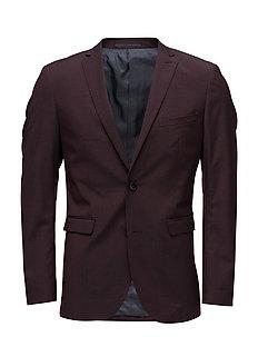 George F Deep Wine Suit - DEEP WINE