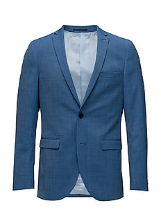 George F Mid Blue Suit - WASHED BLUE