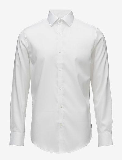 Trostol - chemises de lin - white
