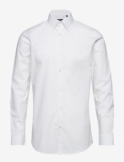 Robo N - chemises de lin - white