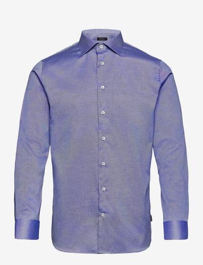 Marc - chemises de lin - ink blue
