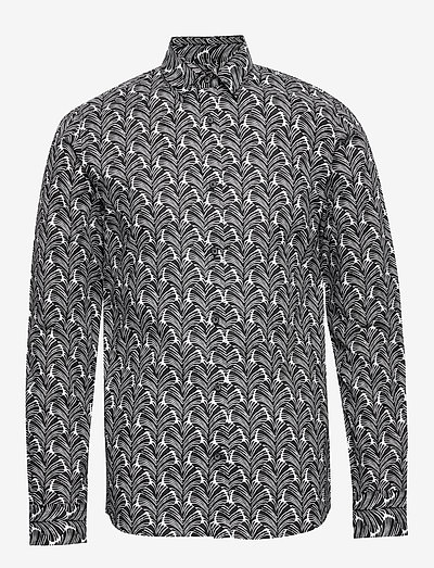 MArobo - chemises de lin - black