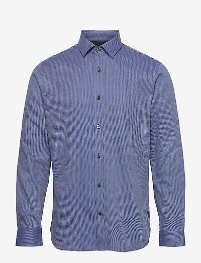 MAtrostol B5 - chemises de lin - wave blue