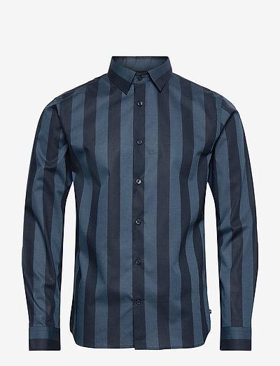 MArobo NP - chemises de lin - dust blue
