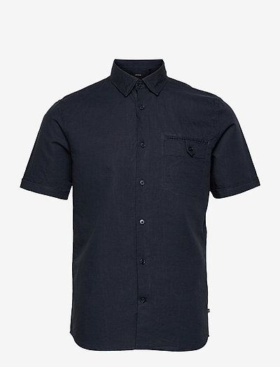 MAtrostol BU SS P - chemises à carreaux - dark navy
