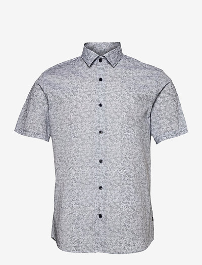 MAtrostol SS - chemises à carreaux - dark navy