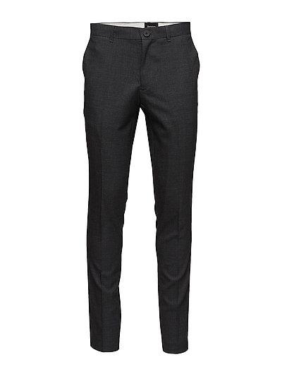 Las CM 2 Wool formal Pant - DRK GREY MELANGE