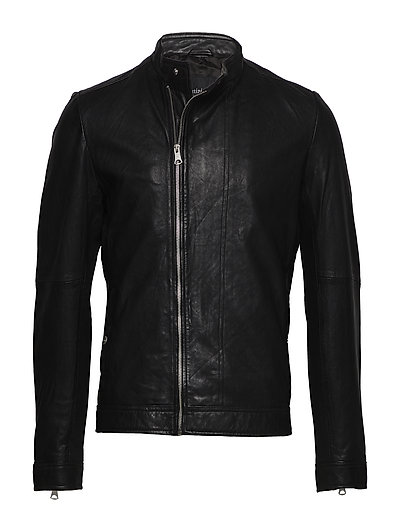 Read Raw Look Leather - BLACK