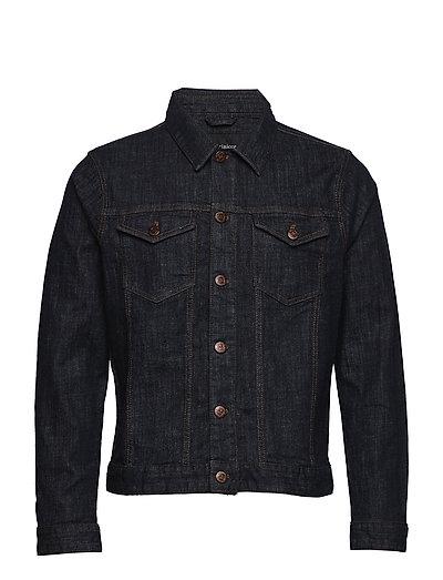 Peter Denim Jacket Blue Vintage Was - DARK DENIM