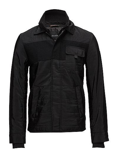 Dagan Padded Jacket - BLACK