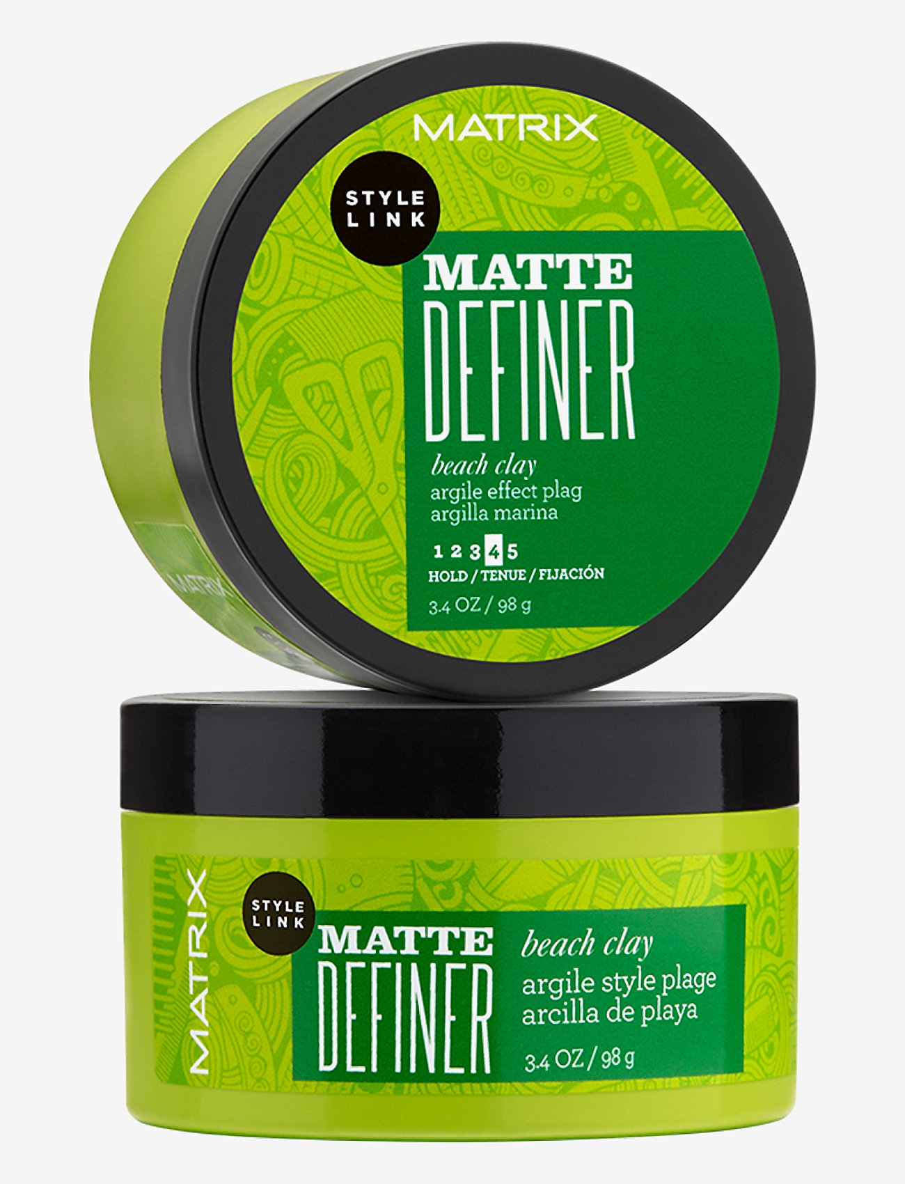 Matrix - Style Link Matte Definer Beach Clay - paste - clear - 0