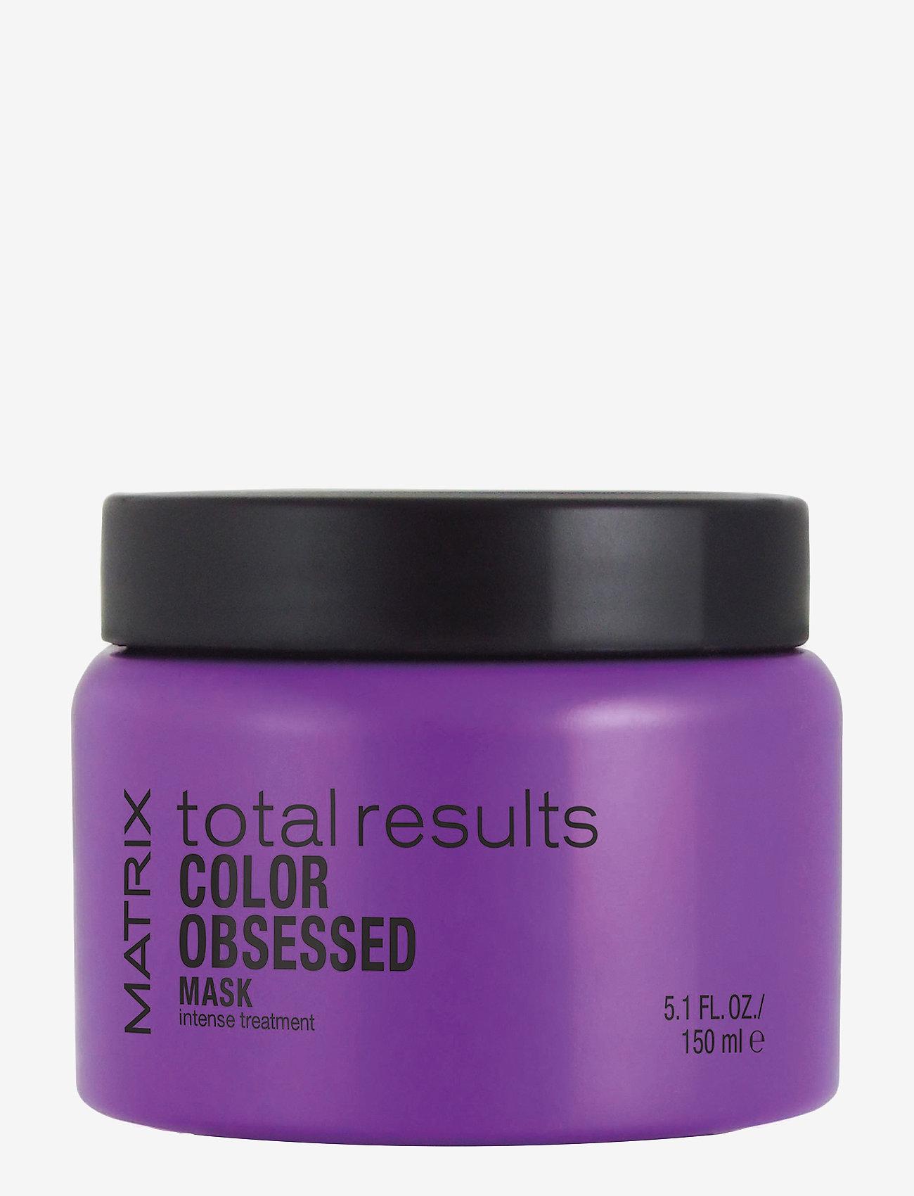 Matrix - Total Results Color Obsessed Mask - hårmasker - clear - 0