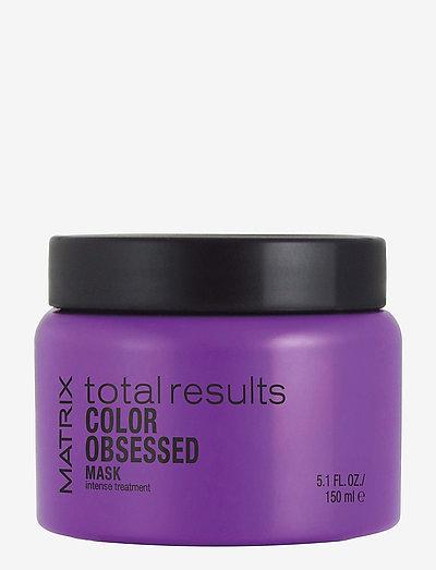 Total Results Color Obsessed Mask - hårmasker - clear