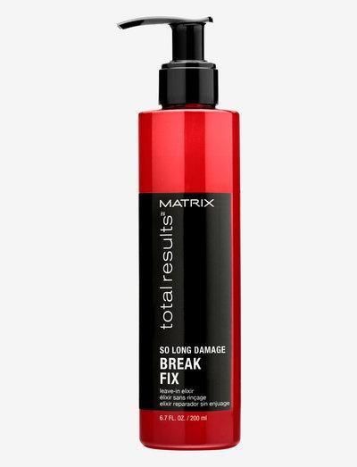 Total Results So Long Damage Break Fix Leave-In 200 ml - hoidot - clear