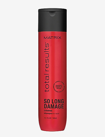 Total Results So Long Damage Shampoo 300 ml - shampoo - clear