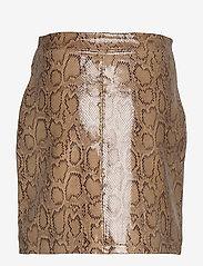 MAUD - Animal Short Skirt - korta kjolar - twill - 1