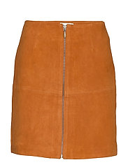 Leather Skirt Short - HAWAIIAN SUNSET