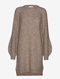 Fluffy Rib Dress - TWILL