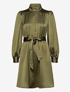 VINTAGE BUTTON DRESS - skjortekjoler - vetiver