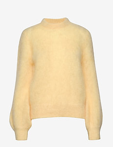 Mohair Knit - swetry - double cream