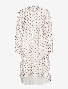 Prarie Dress - midi-kleider - white
