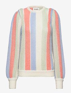 Retro Stripe knit - pullover - mulitcolor