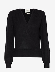 Soft mohair sweater - swetry - black