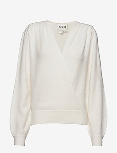 Soft mohair sweater - swetry - ivory