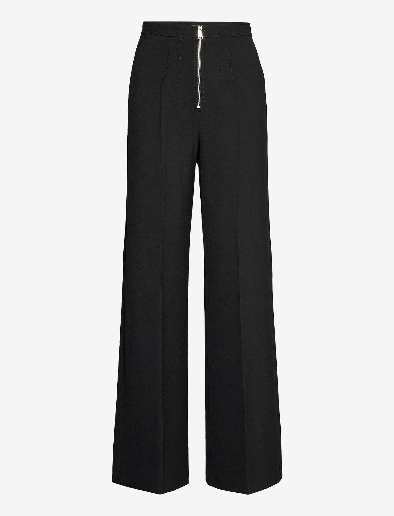 Max&Co. - MORESCO - uitlopende broeken - black - 0