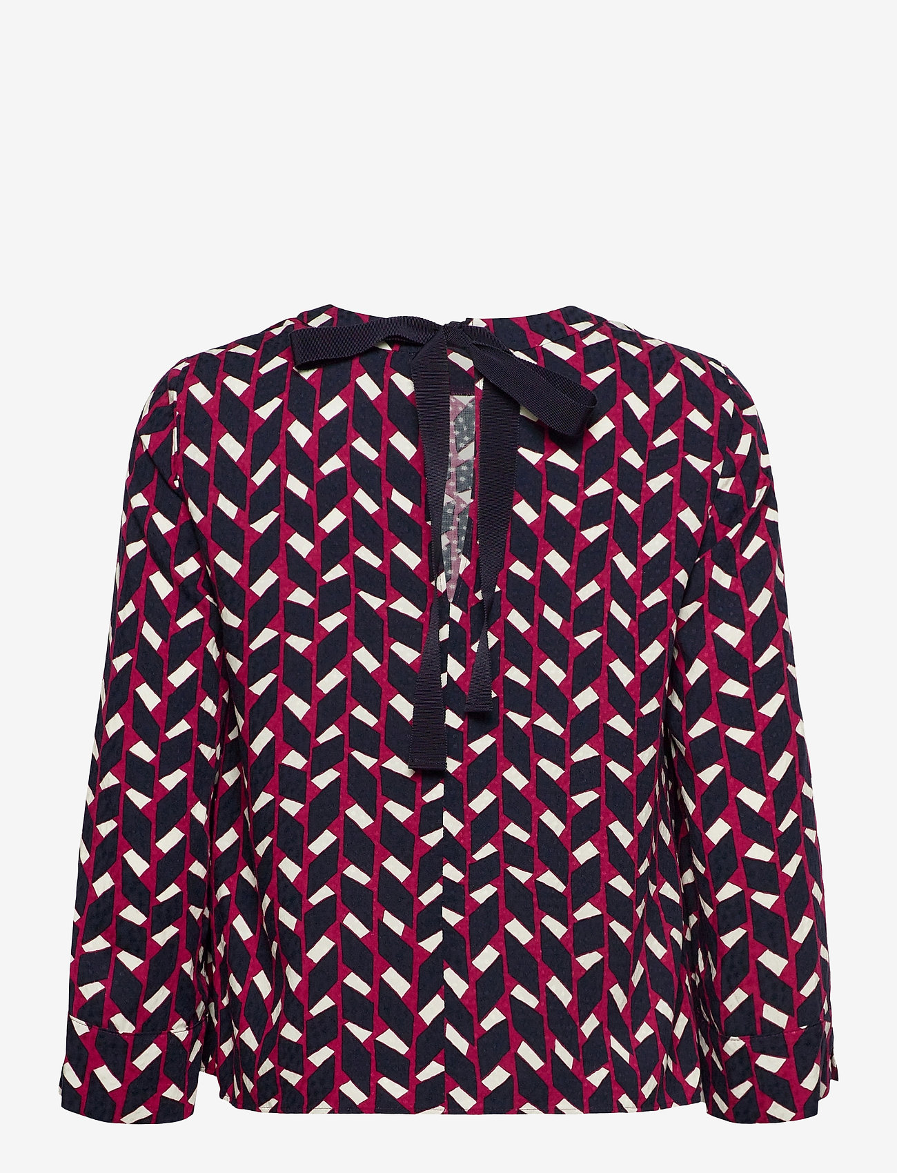 Max&Co. - ROCCIA - blouses met lange mouwen - burgundy pattern - 1