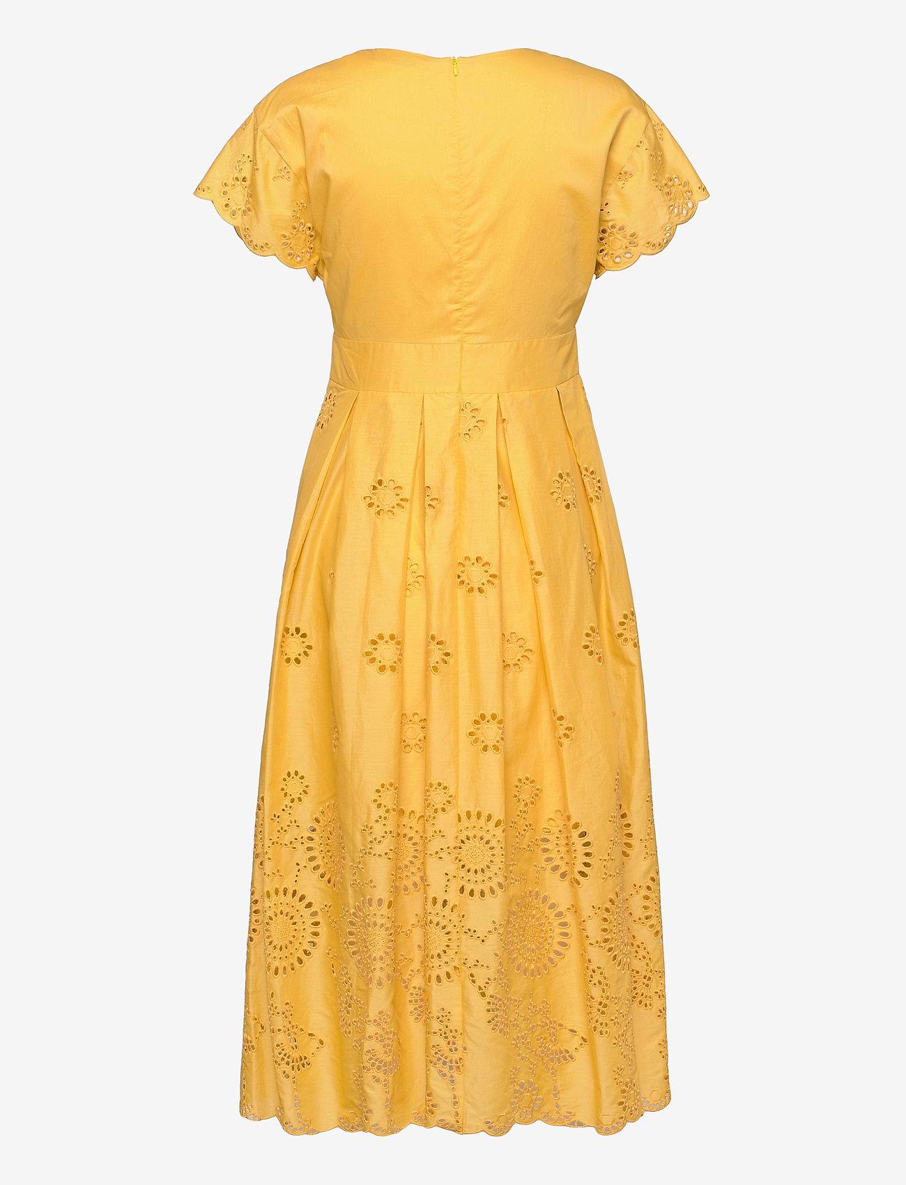 Max&Co. - ODE - zomerjurken - sunshine yellow - 1